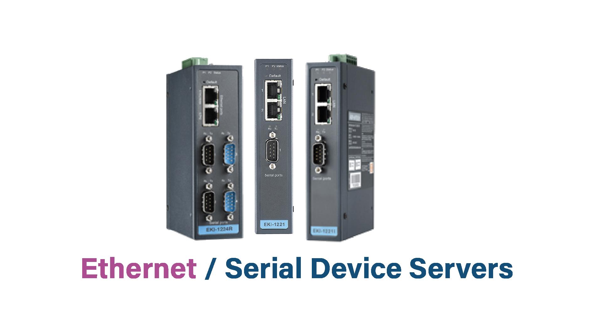 Ind. Ethernet/Serial device Server
