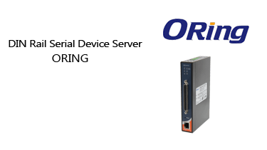 DIN-Rail-Serial-Device-Server