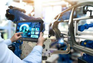 hmi in car factory